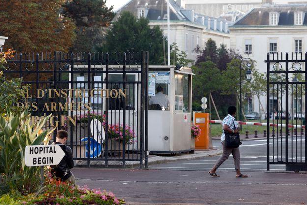 L'hôpital Bégin, où était hospitalisée la Française.