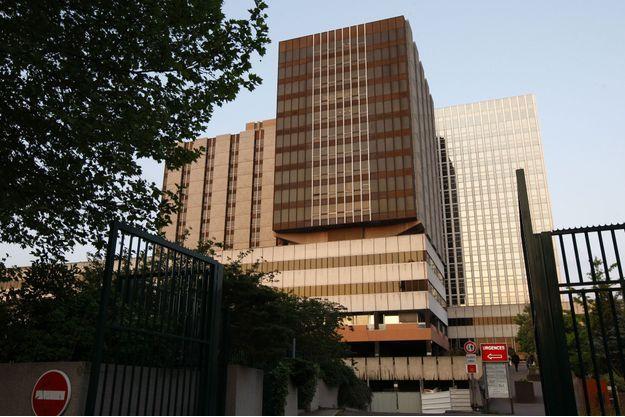 L'hôpital Bichat à Paris.