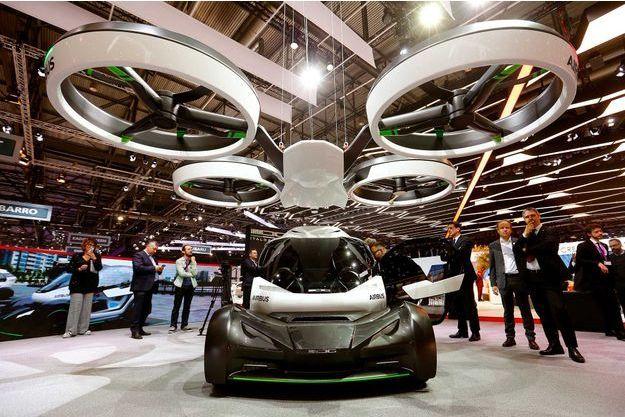 airbus d voile son premier prototype de voiture volante sans pilote. Black Bedroom Furniture Sets. Home Design Ideas