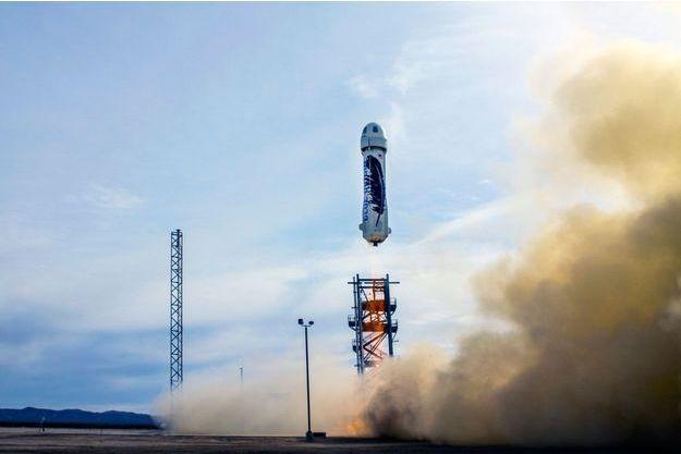 Le lanceur New Shepard a réussi son vol.