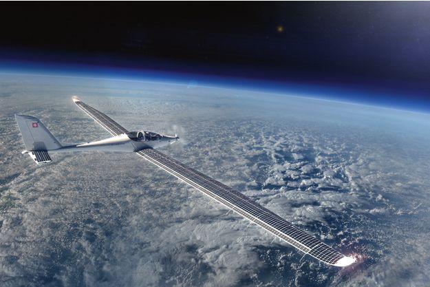 Le Solarstratos: 8,5 mètres de longueur, 24,8 mètres d'envergure, un coût entre 3 et 4 millions d'euros.