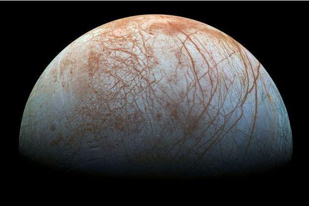 Illustration d'Europe, une des lunes de Jupiter
