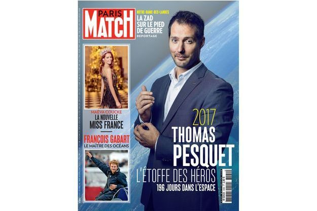 Thomas Pesquet a passé 196 jours dans l'espace.