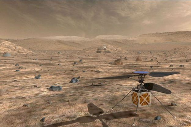 """""""The Mars Helicopter"""""""