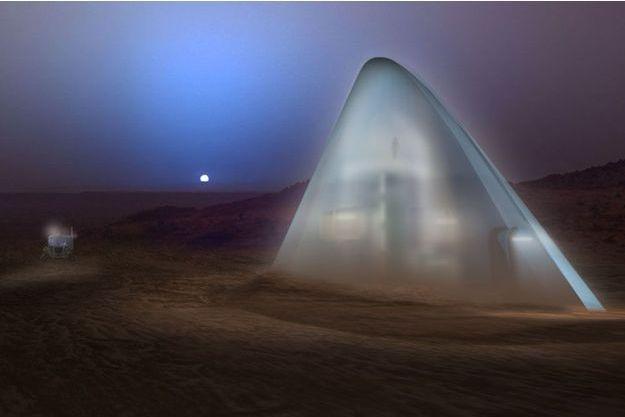 La Ice House, imaginée par l'équipe SEArch/Clouds Architecture Office.