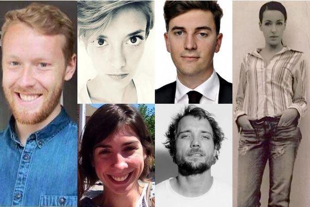 François-Xavier Prévost, Marie Mosser, Valentin Ribet, Lola Salines, Romain Didier et Djamila Houd