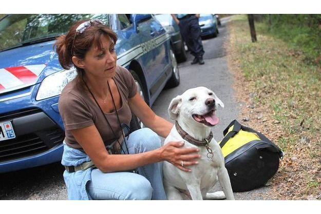 Nathalie et sa chienne Rita n'oublieront pas de si tôt cette promenade.