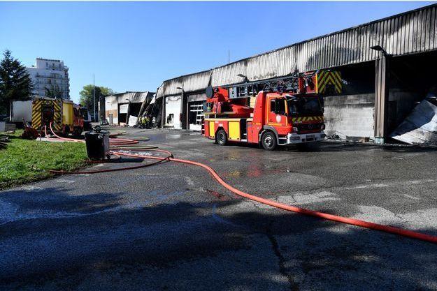 L'incendie a notamment détruit du matériel d'investigation.