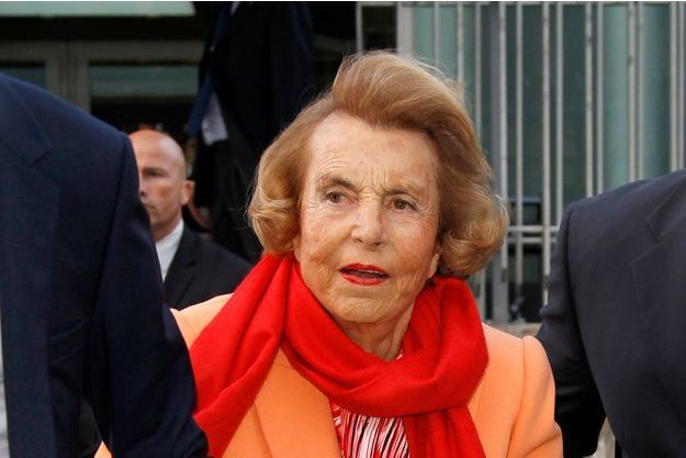 Liliane Bettencourt en 2012