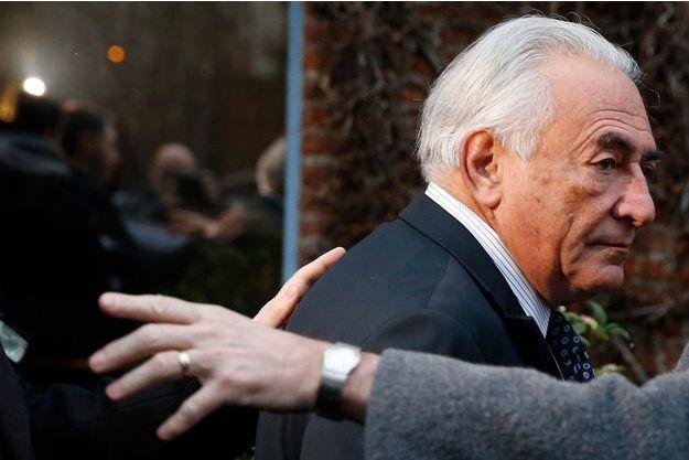 DSK en février 2015 à Lille lors du procès de l'affaire du Carlton.
