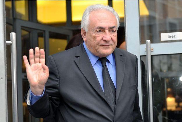 Dominique Strauss-Kahn en février dernier.