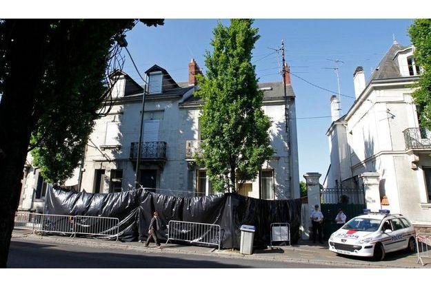 Le domicile de la famille Ligonnès, situé boulevard Robert Schuman à Nantes