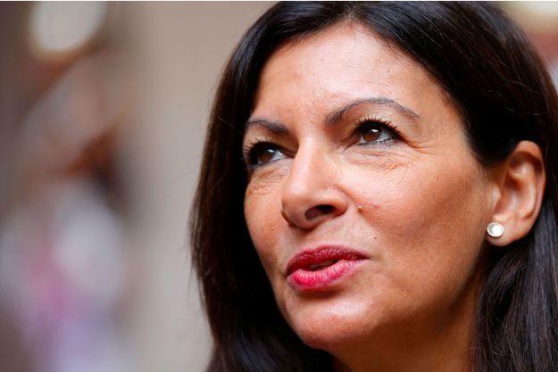 La maire de Paris Anne Hidalgo, en septembre 2017.