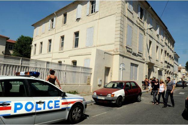 L'école André-Benoît-Anne-Franck de Trinquetaille, à Arles