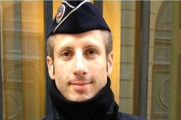 Xavier Jugelé, le policier tué dans l'attentat des Champs-Elysées.