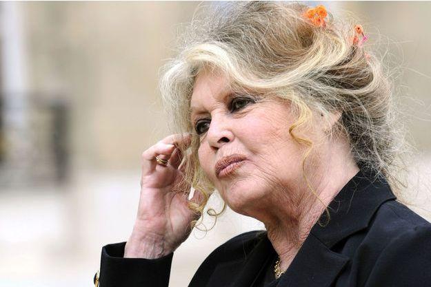 Brigitte Bardot ici à l'Elysée en 2007.