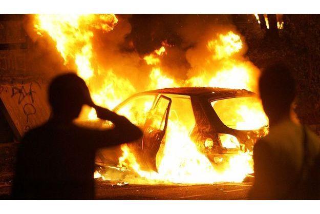 Il y a quatre ans, suite à une émeute, des voitures étaient en flamme au Blanc-Mesnil