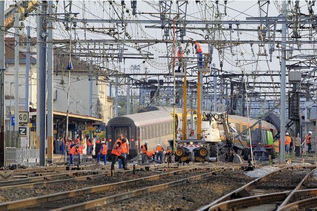 Le déraillement d'un train en gare de Brétigny-sur-Orge avait causé la mort de sept personnes.