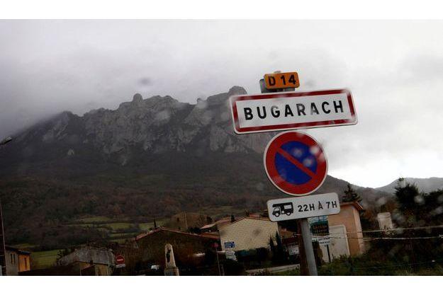 Le village de Bugarach, dans l'Aude.