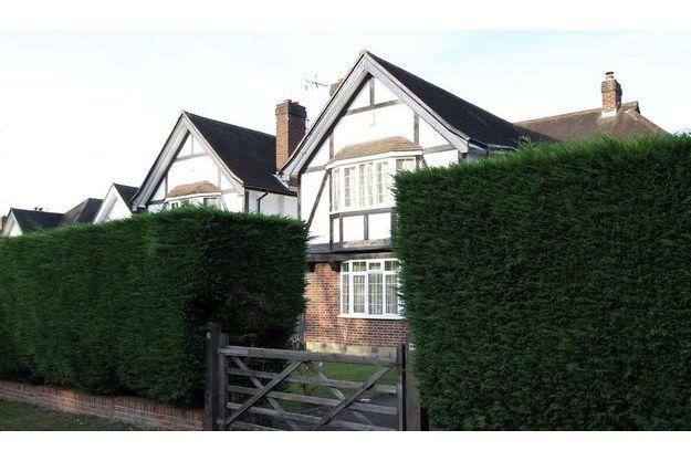 La maison de la famille al Hilli à Claygate, dans le Surrey.