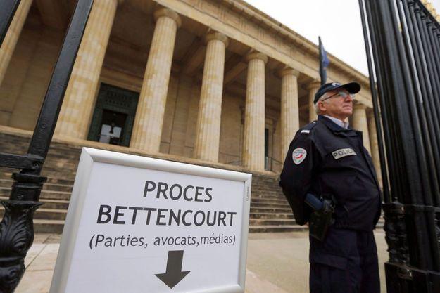 L'entrée du Palais de Justice de Bordeaux.