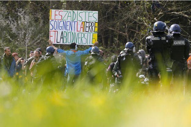 La ZAD de Notre-Dame-des-Landes le 15 avril.