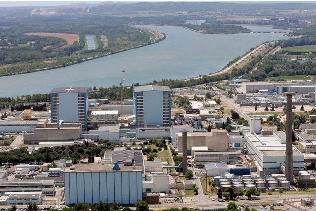 Le site nucléaire de Macroule, dans le sud-est de la France.