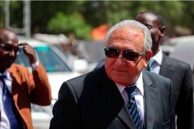 Dominique Strauss-Kahn, à Juba, au Soudan-Sud, le 14 mai dernier.