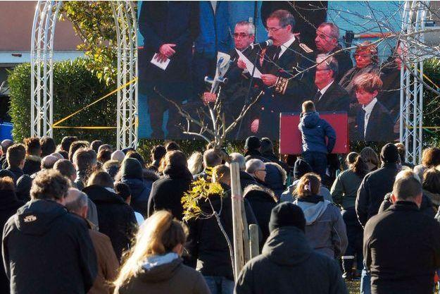 Le message lu par le préfet Philippe Vignes à l'issue des obsèques des victimes de Millas.