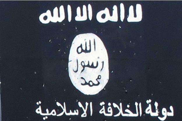 Un drapeau de Daech.