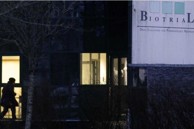Le laboratoire Biotrial de Rennes.