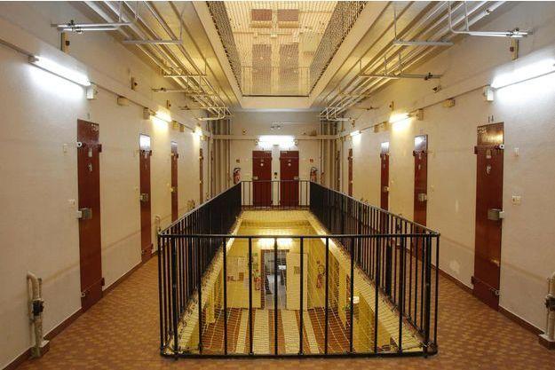 A l'intérieur de la prison pour femmes de Versailles (photo prise en 2010).