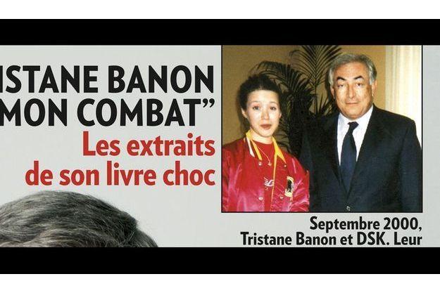La seule photo existante de DSK et Tristane Banon est en une de Match, à paraître demain.