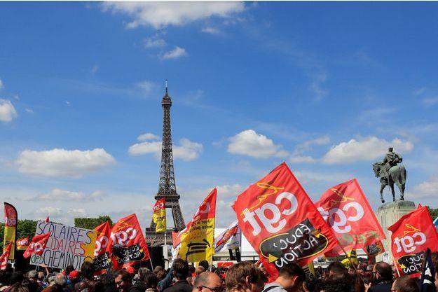 Une manifestation le 3 mai dernier.