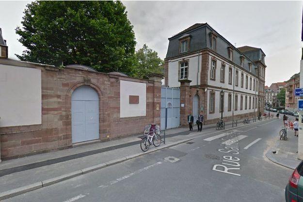 Le collège Épiscopal Saint Étienne à Strasbourg.