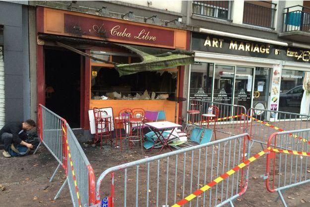 Quatorze personnes ont été tuées dans l'incendie de ce bar de Rouen.