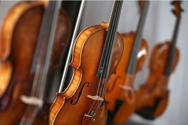 Illustration violon.