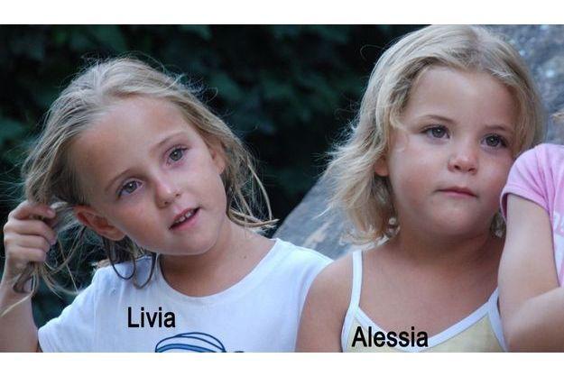 Alessia et Livia, enlevées le 30 janvier 2011.