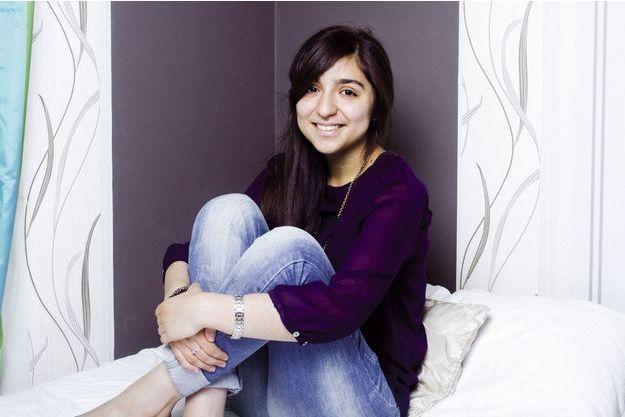 Myriam Bourhail a obtenu une moyenne de 21,03 au baccalauréat.