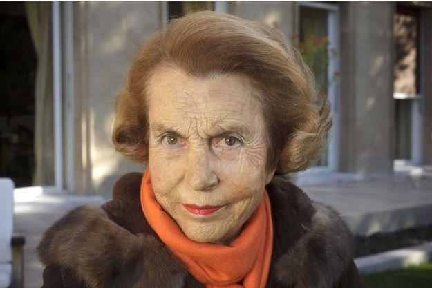 Liliane Bettencourt photographiée en 2011.