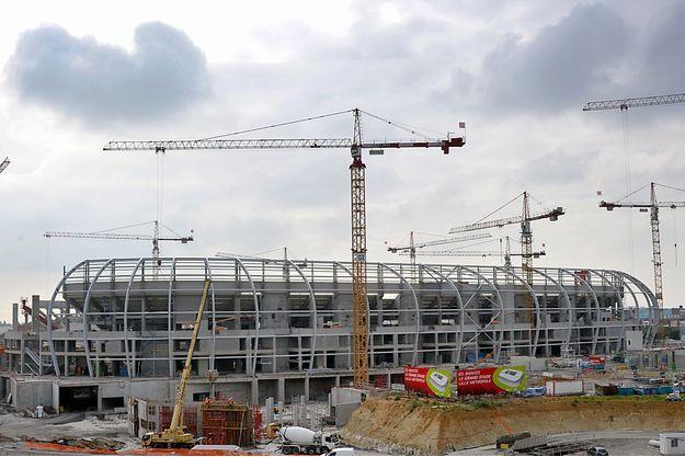 La construction du Grand stade de Lille est au coeur des investigations d'Eric Darques.