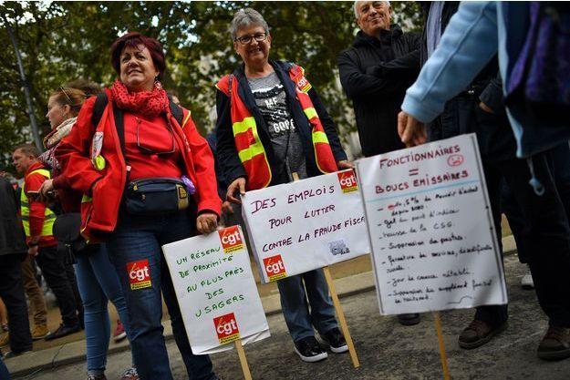 Manifestants à Nantes, le 12 septembre.