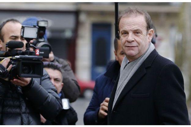 François-Marie Banier le 26 janvier devant le tribunal correctionnel de Bordeaux.
