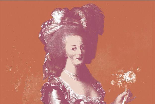 La reine Marie-Antoinette.
