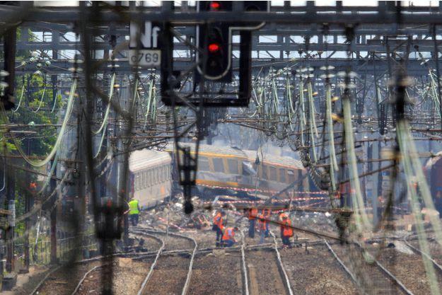 Le 12 juillet 2013, le déraillement d'un train en gare de Brétigny-sur-Orge avait fait sept morts et des dizaines de blessés