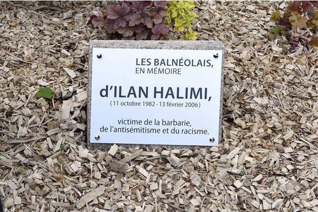 La stèle en hommage à la mémoire d'Ilan Halimi à Bagneux (image d'illustration).