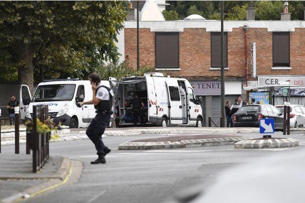 L'opération policière a eu lieu mercredi à Villejuif.