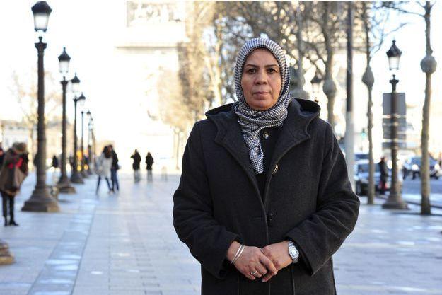 Latifa Ibn Ziaten, la mère de la première victime de Mohamed Merah.