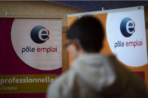 Illustration du logo de pôle emploi.