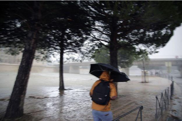 Des pluies orageuses s'étaient abattues sur le département de l'Hérault, en novembre 2014.